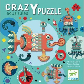 Crazy Puzzle - Aqua'zules