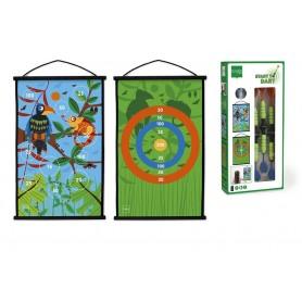 Scratch Fléchettes - Toucan Jungle