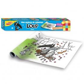 Loup Rouleau à coloriage 3,6m