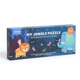 Puzzle geant de sol jungle