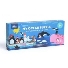 Puzzle géant de sol - Océan