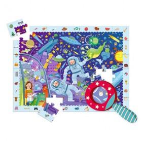 Puzzle détective espace
