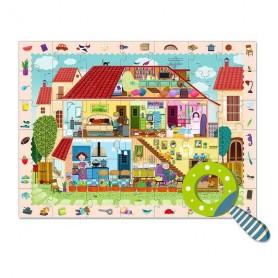 Puzzle détective maison