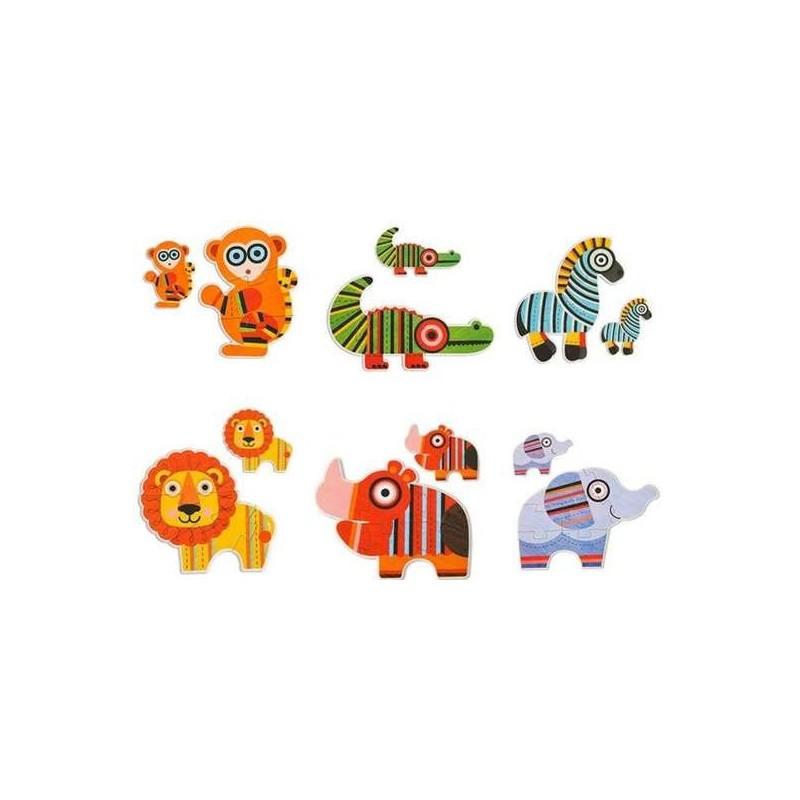ANIMAUX-Mon 1er puzzle