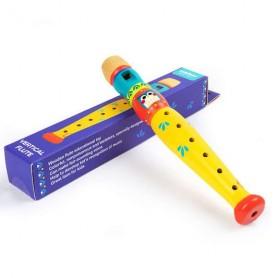 Flûte en bois hibou