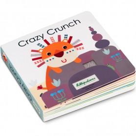 CRAZY CRUNCH - Livre sonore et tactile
