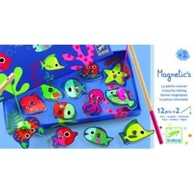 Magnétiques en bois Fishing colour