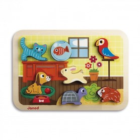 Chunky Puzzle Animaux