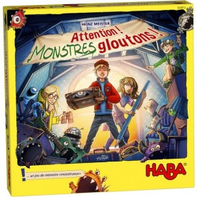 Attention! Monstres gloutons! - Haba
