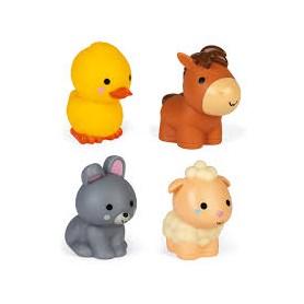4 gicleurs de bain - Les animaux de la ferme