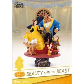 La Belle et la Bête diorama PVC D-Select 15 cm