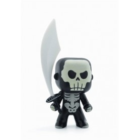 Arty Toys - Chevaliers Skully (Phosphorescent)